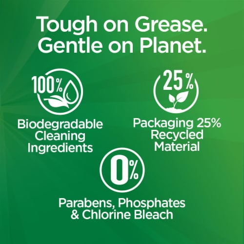 Palmolive Power Pacs Dishwasher Detergent Perspective: bottom