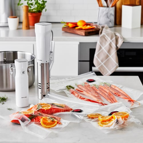 ZWILLING Fresh & Save 10-pc Vacuum Sealer Bags, Sous Vide Bags, Meal Prep - Small Perspective: bottom