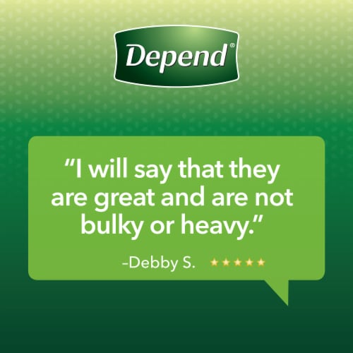 Depend® FIT-FLEX Maximum Absorbency Extra Large Incontinence Underwear for Women Perspective: bottom