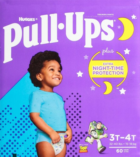 Pull-Ups® 3T-4T Boys Night Time Training Pants Perspective: bottom