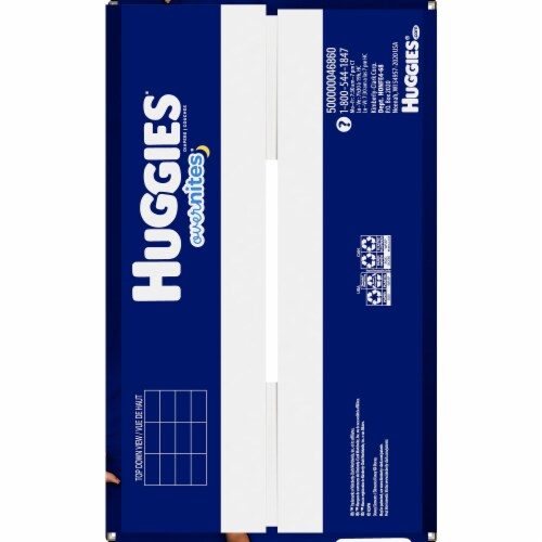 Huggies Overnites Size 4 Diapers Perspective: bottom