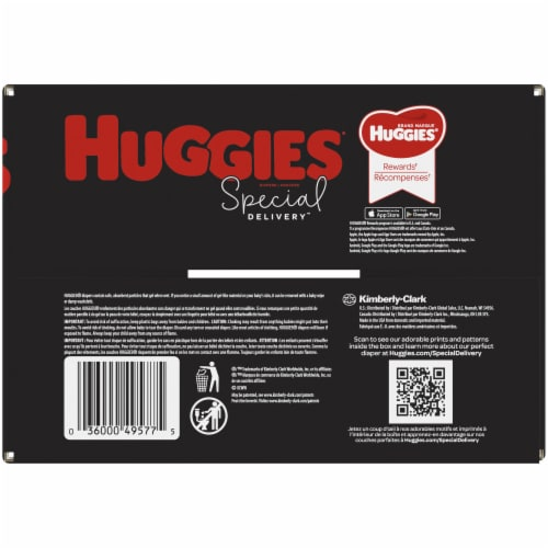 Huggies Special Delivery Size 3 Baby Diapers Perspective: bottom