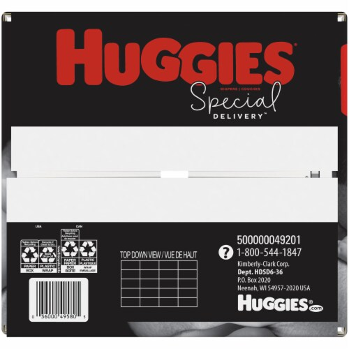 Huggies Special Delivery Size 6 Baby Diapers Perspective: bottom