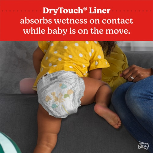 Huggies Little Movers Size 4 Baby Diapers Perspective: bottom