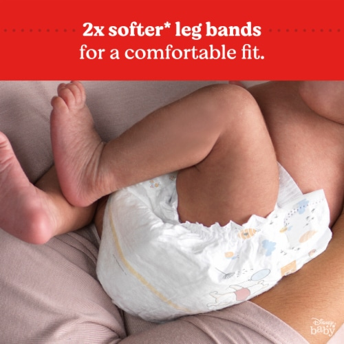 Huggies Little Snugglers Size 1 Diapers Perspective: bottom
