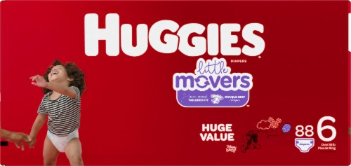 Huggies Little Movers Diapers Size 6 Perspective: bottom