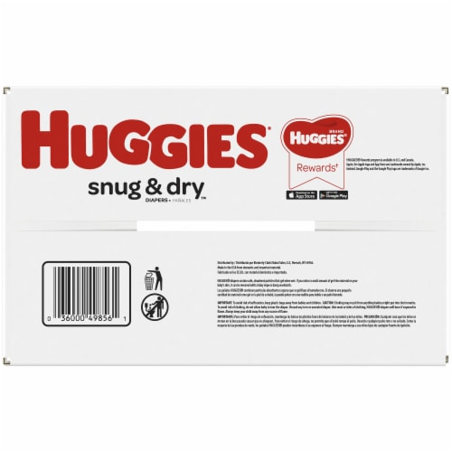 Huggies Snug & Dry Size 1 Diapers Perspective: bottom