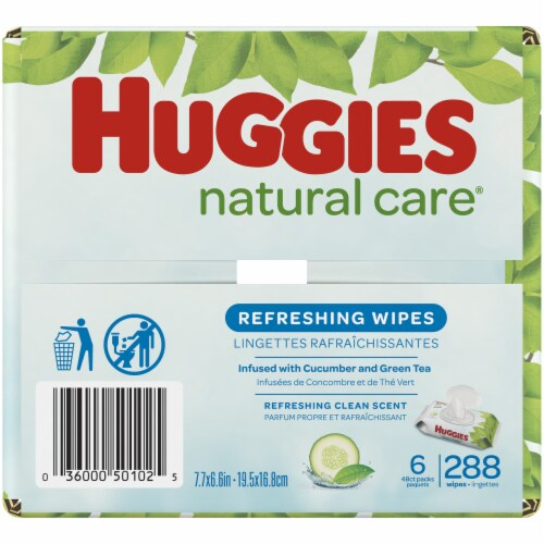 Huggies Refreshing Clean Baby Wipes Perspective: bottom