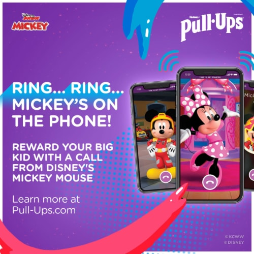 Pull-Ups Learning Designs 3T-4T Boys' Training Pants Perspective: bottom