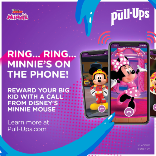 Pull-Ups Learning Designs 4T-5T Girls' Training Pants Perspective: bottom