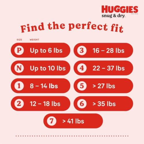 Huggies Snug & Dry Size 2 Jumbo Pack Baby Diapers Perspective: bottom