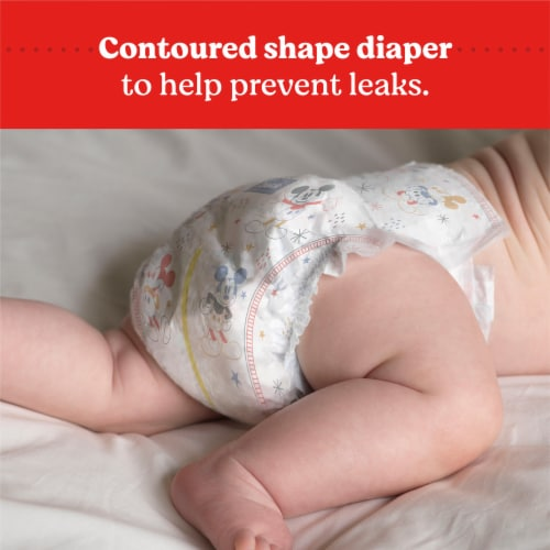 Huggies Snug and Dry Size 3 Diapers Perspective: bottom