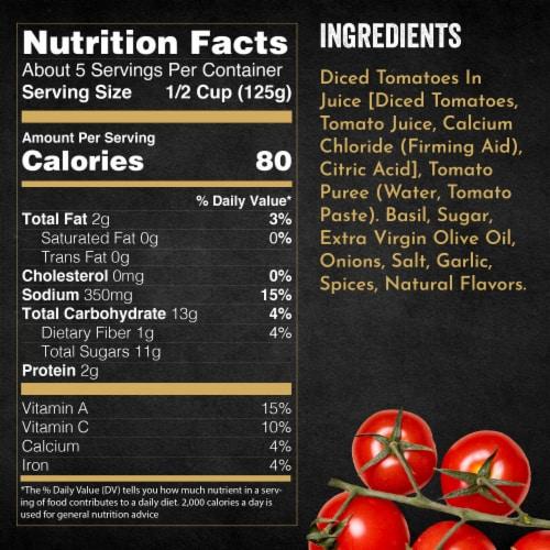 Bertolli Tomato & Basil Pasta Sauce Perspective: bottom