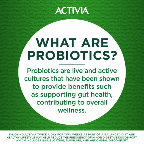 Activia Vanilla Probiotic Lowfat Yogurt Perspective: bottom