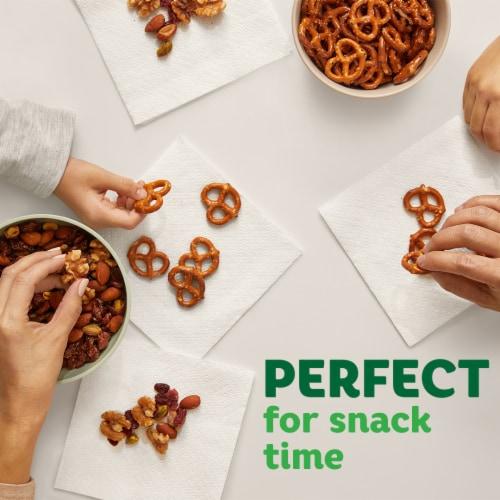 Bounty White Paper Napkins Perspective: bottom