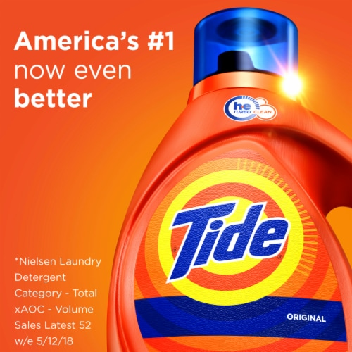 Tide Original Liquid Laundry Detergent Perspective: bottom