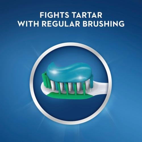 Crest Toothpaste Tartar Protection Regular Paste Perspective: bottom