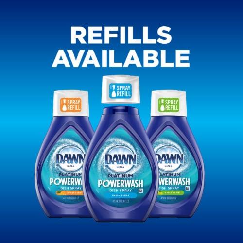 Dawn Powerwash Hand Dishwashing Liquid Fresh Scent Dish Spray Perspective: bottom