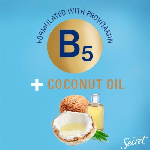 Secret Derma+ Nourishing B5 + Coconut Oil Gel Antiperspirant Deodorant Perspective: bottom