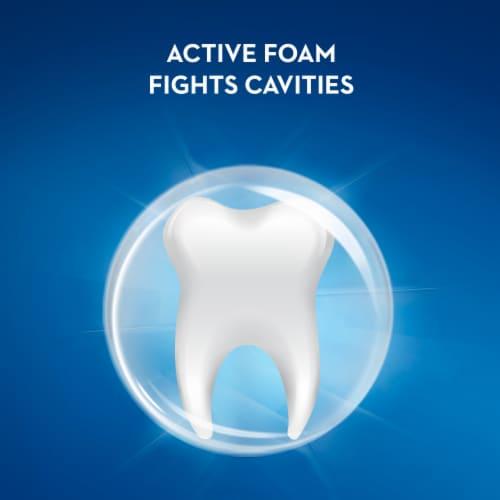 Crest® Premium Plus™ Clean Mint Advanced Whitening Toothpaste Perspective: bottom