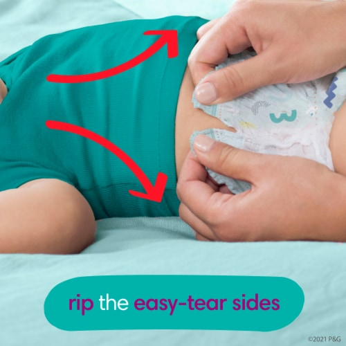 Pampers Cruisers 360 Fit Size 5 Diapers Perspective: bottom