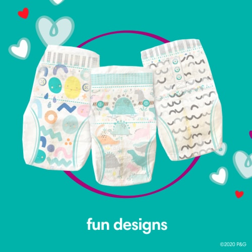 Pampers Cruisers 360 Fit Size 4 Baby Diapers Perspective: bottom