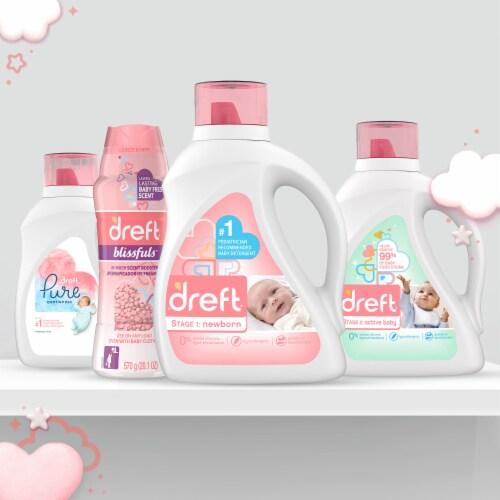 Dreft New Born Liquid Laundry Detergent Perspective: bottom