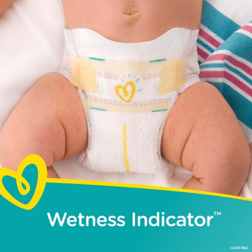 Pampers Swaddlers Size 5 Diapers Perspective: bottom