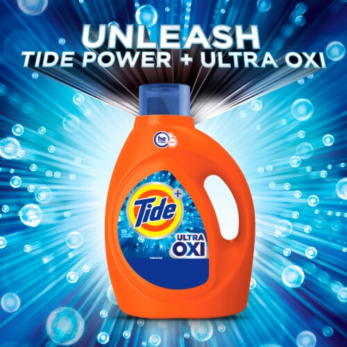 Tide Ultra Oxi Liquid Laundry Detergent Perspective: bottom
