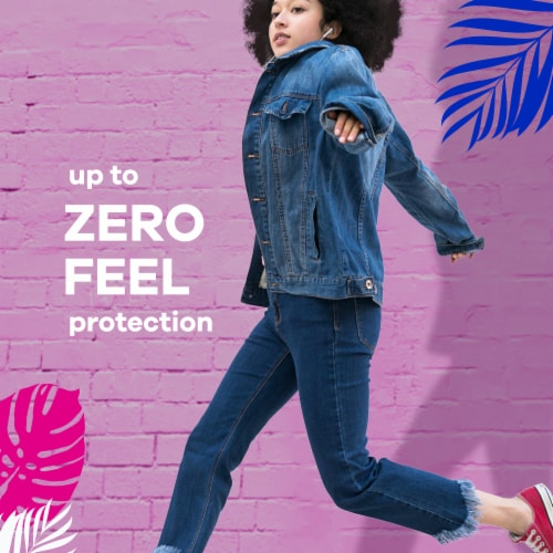 Always® Radiant Size 2 Heavy Flow Scented Pads with Wings Perspective: bottom