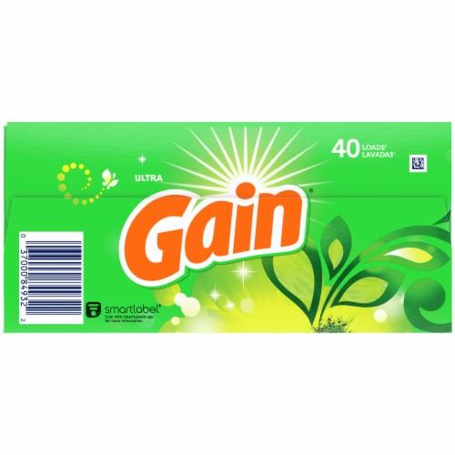 Gain® Ultra + Aroma Boost Original Powder Laundry Detergent Perspective: bottom