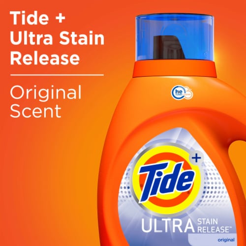 Tide Ultra Stain Release Original Liquid Laundry Detergent Perspective: bottom