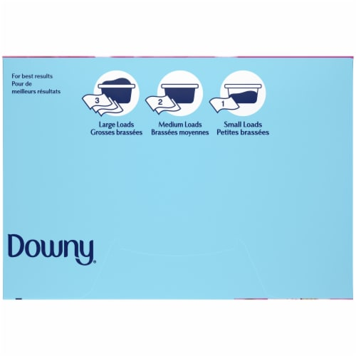 Downy April Fresh Fabric Softener Sheets Perspective: bottom