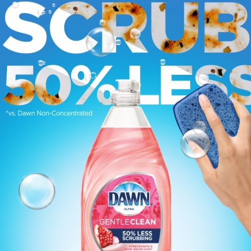 Dawn® Ultra Gentle Clean Pomegranate & Rose Water Scent Dish Soap Perspective: bottom