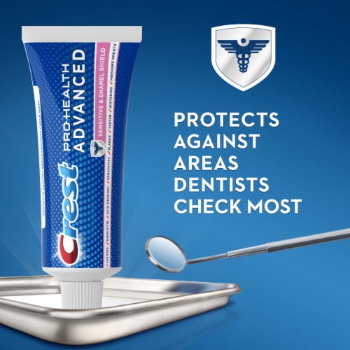 Crest Pro-Health Advanced Sensitive Enamel Shield Toothpaste Perspective: bottom
