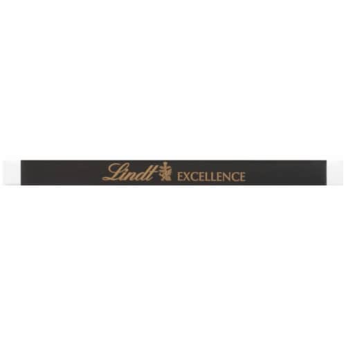 Lindt Excellence A Touch of Sea Salt Dark Chocolate Bar Perspective: bottom