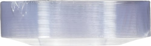 Chinet Cut Crystal 7-Inch Plastic Plates Perspective: bottom