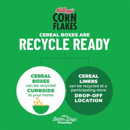 Kellogg's Corn Flakes Breakfast Cereal Original Perspective: bottom