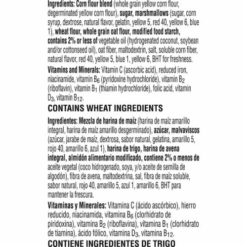 Kellogg's Froot Loops with Marshmallows Cereal Perspective: bottom