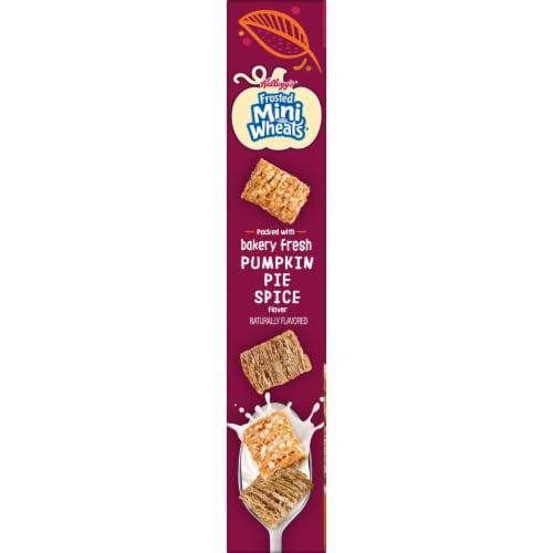 Kellogg's Pumpkin Spice Mini-Wheats Cereal Perspective: bottom
