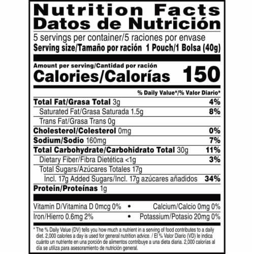 Kellogg's Pop-Tarts Filled Pastry Bites Frosted Strawberry Perspective: bottom