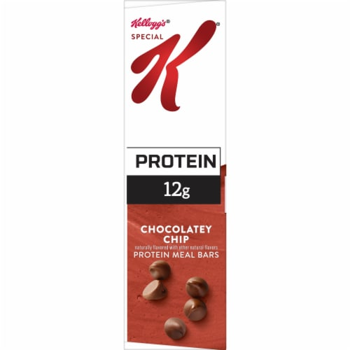 Special K Chocolatey Chip Protein Meal Bars Perspective: bottom
