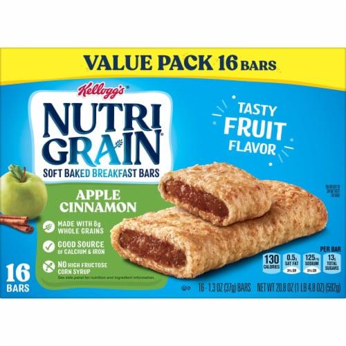Kellogg's Nutri-Grain Soft Baked Breakfast Bars Apple Cinnamon Value Pack Perspective: bottom