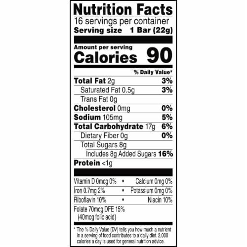 Kellogg's Rice Krispies Treats Marshmallow Squares Original Value Pack Perspective: bottom