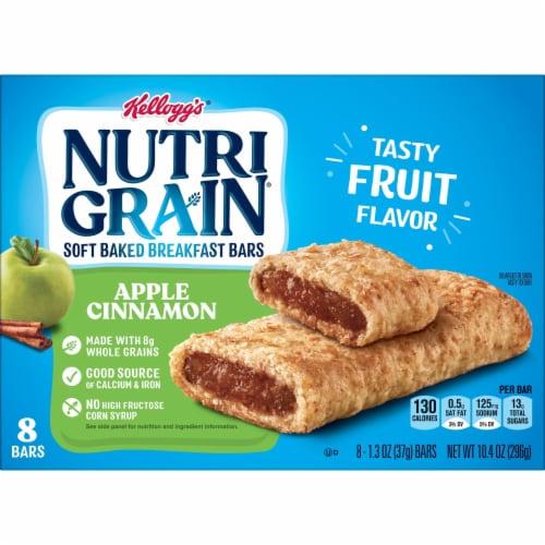 Kellogg's Nutri-Grain Soft Baked Breakfast Bars Apple Cinnamon Perspective: bottom