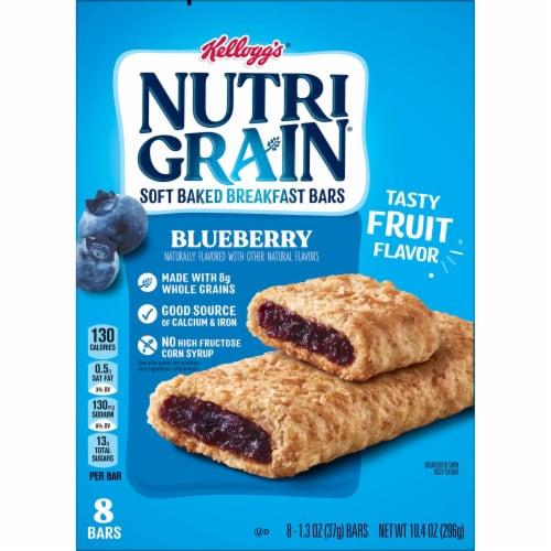 Kellogg's Nutri-Grain Soft Baked Breakfast Bars Blueberry Perspective: bottom