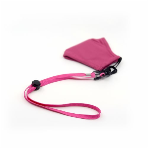Grand Fusion Pink Mask Lanyard - 3 Pack  (6 Total) Perspective: bottom