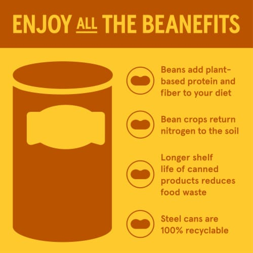 Bush's Best® Cannellini White Kidney Beans Perspective: bottom