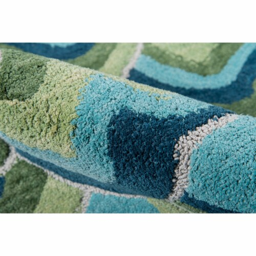 Madcap Cottage Embrace Adventure EMB-1 Green Cloud Club 2' X 3' Rug Perspective: bottom