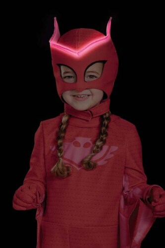 Owlette Classic Toddler PJ Masks Costume, Small/2T Perspective: bottom